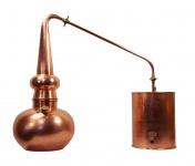 """"""" CopperGarden®"""" Destille Alembik 10L, verschweißt & Thermometer"""