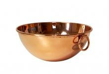 """"""" CopperGarden®"""" Rührschüssel aus Kupfer ? Größe M = Ø 24 cm"""
