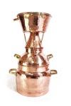 """"""" CopperGarden®"""" Destille Alquitara ? 3 Liter ? für ätherische Öle"""