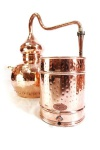 """"""" CopperGarden®"""" Destille Alembik 10L, vernietet mit Thermometer"""