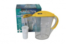 """"""" Medicura"""" Wasserfilter inkl. Kartusche - gelb"""