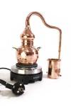 """"""" CopperGarden®"""" Destille Alembik 0, 5 L, elektrische Schnapsbrennerei"""