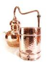 """"""" CopperGarden"""" Destille Alembik 40L, genietet"""