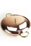 """"""" CopperGarden®"""" XXL Kupferpfanne 36cm mit Deckel"""