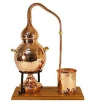 """"""" CopperGarden®"""" Destillieranlage 2L Alembik ? Spiritusbrenner"""