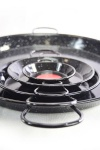 'Vaello' Paellapfanne (70 cm) - schwarz emailliert