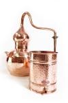 """ CopperGarden"" Destille Alembik 30 L, verschweißt (hartverlötet)"