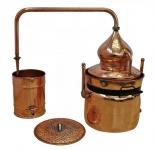 """"""" CopperGarden®"""" Wasserbad Destille """" Hydro"""" 50L & Thermometer"""