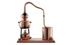 CopperGarden® Destille Alembik 0, 5 Liter - legal Schnapsbrennen als Hobby