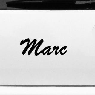 Marc 20cm Kinderzimmer Name Aufkleber Tattoo Deko Folie Auto Tür Fenster Schrank
