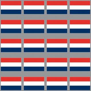 20 Aufkleber 3cm Niederlande NL Holland Fahne Flagge Mini Sticker RC Modellbau