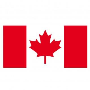 20 Aufkleber 6, 5cm Sticker Kanada CAN canadian Fußball Deko EM WM Flagge Fahne