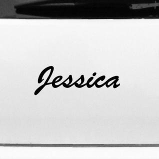 Jessica 22cm Kinderzimmer Name Aufkleber Tattoo Deko Folie Auto Fenster Schrank