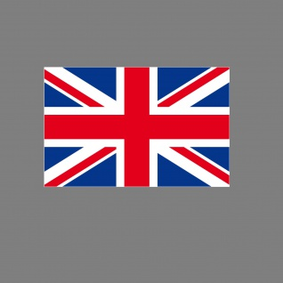 Aufkleber 6, 5cm Sticker UK ENG England GB Flagge Fahne Fußball Fan EM WM Deko