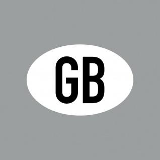 Aufkleber 8cm Sticker GB klein Länderkennung Länderkennzeichen 4061963088487