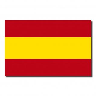 5 Aufkleber 8, 5cm Sticker Spanien Espana Fußball EM WM National Flaggen Fahnen - Vorschau 3