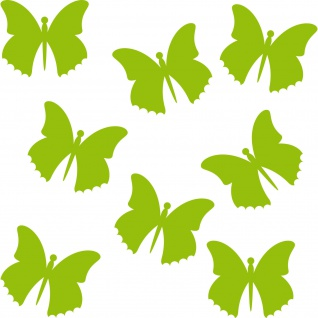 Schmetterling Falter butterfly Auto Fenster Tür Wand Aufkleber Tattoo Deko Folie
