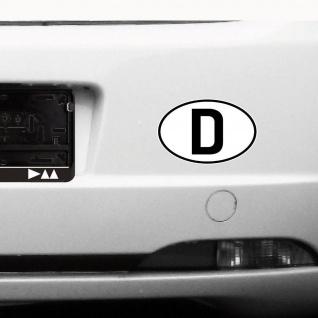 D Aufkleber Sticker BRD GER Deutschland Länderkennzeichen Auto Schild Zeichen - Vorschau 3