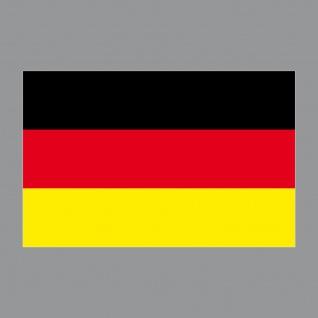 5 Aufkleber 8cm Sticker BRD Deutschland Fußball WM EM National Fahnen Flaggen - Vorschau 4
