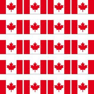 20 Stück Kanada CDN CA CAN Länder Fahne Flagge RC Modellbau Aufkleber Sticker