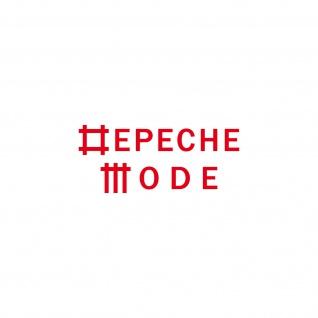 Universe rot S Schriftzug Auto Fenster Tür Folie Depeche Mode Aufkleber Tattoo