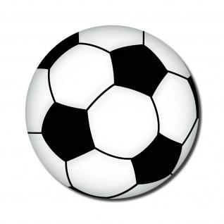 Aufkleber 10cm Sticker Ball Fussball Autoaufkleber Fan EM WM 4061963005002