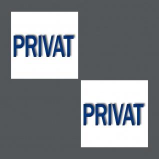 Aufkleber 5cm Sticker Privat Fliesen Spiegel Handtuchhalter Toilette 00 Bad WC - Vorschau 2