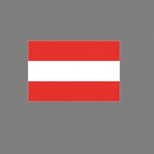 Aufkleber 6, 5cm Sticker A AT AUT Österreich Flagge Fahne Fußball EM WM Fan Deko - Vorschau 3