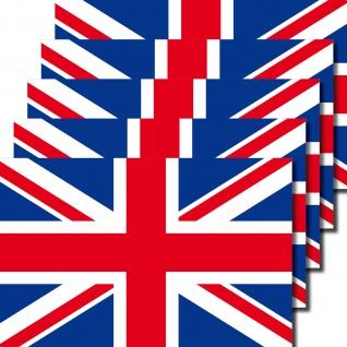 5 Aufkleber 6, 5cm Sticker ENG UK GB Fußball England EM WM National Flagge Fahne