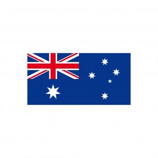 10 Aufkleber 6, 5cm Sticker AUS AU Australien Fußball Deko EM WM Flagge Fahne - Vorschau 4