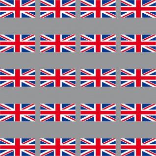 20 Aufkleber 3cm England UK GB ENG Länder Flagge Fahne Mini Sticker Modellbau RC