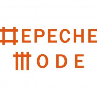 Universe orange L Schriftzug Auto Fenster Tür Depeche Mode Aufkleber Tattoo