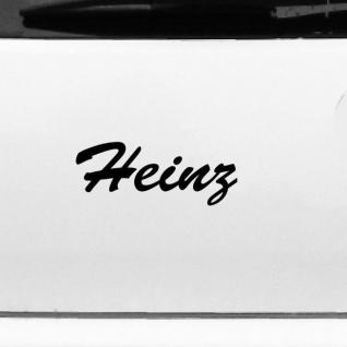Heinz 19cm Kinderzimmer Name Aufkleber Tattoo Deko Folie Auto Fenster Schrank