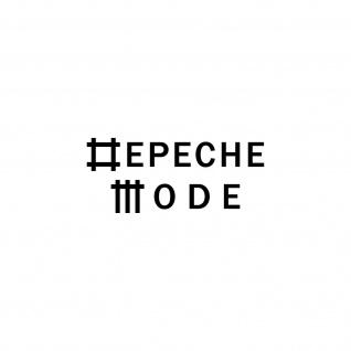 Universe schwarz S Schriftzug Auto Fenster Tür Depeche Mode Aufkleber Tattoo