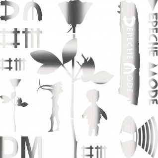DM Mega Set chrom Depeche Mode Autoaufkleber Auto Aufkleber Tattoo Deko Folie