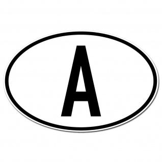 A Aufkleber Auto Sticker AUT AT Österreich Land Länderkennzeichen 4061963019863 - Vorschau 2
