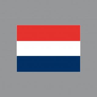 Aufkleber 6, 5cm Sticker NL NED Niederlande Holland Flagge Fahne Fußball EM WM