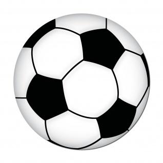 20 Aufkleber 10cm Sticker Fußballaufkleber Fußballsticker Fußball Ball EM WM