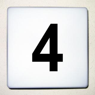 1 Stück 12cm schwarz Aufkleber Tattoo Hausnummer Wunschziffer Zahl Nummer Ziffer - Vorschau 1