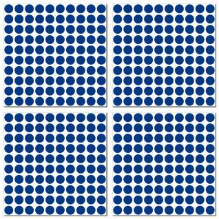 1000 Klebepunkte 5mm selbstklebende Punkte Aufkleber Folie Etiketten Inventur