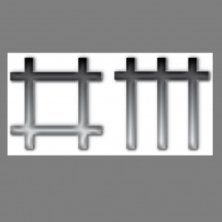 Aufkleber dm Stäbchen 20cm Sticker Auto Laptop Kühlschrank Deko Depeche Mode