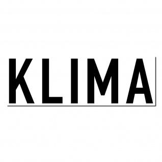 Aufkleber Klima 20cm Sticker Auto Pkw Kfz Verkauf Gebraucht Wagen Handel Händler