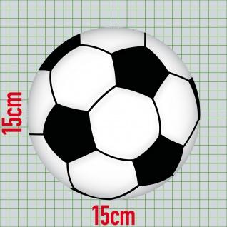 Aufkleber 15cm Sticker Ball Fußball Fan Fußballaufkleber Fußballsticker EM WM - Vorschau 3