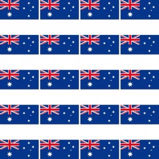 20 Aufkleber 2cm Australien AUS Länder Fahne Flagge RC Modellbau Mini Sticker