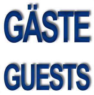 5 Aufkleber 5cm Sticker Gäste Guests Handtuch Hinweis Bad WC 00 Fliesen Spiegel - Vorschau 1