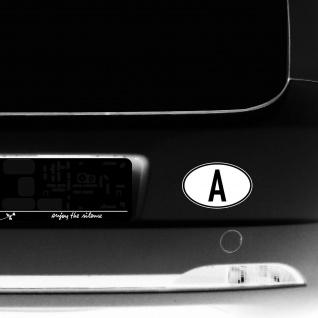A Aufkleber Auto Sticker AUT AT Österreich Land Länderkennzeichen 4061963019863 - Vorschau 4
