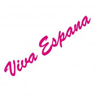 20cm pink Viva Espana Schriftzug Aufkleber Tattoo Auto Tür Fenster Deko Folie