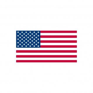 10 Aufkleber 6, 5cm Sticker US Flag USA Amerika Fußball EM WM Flagge Fahne Deko - Vorschau 5