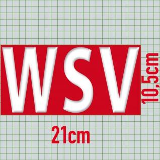 Aufkleber SALE 20cm Sticker Verkaufsaktion Ausverkauf Hinweis auf Rabattaktion - Vorschau 2