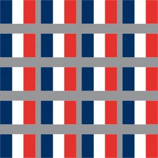 20 Aufkleber 3cm Frankreich FR Länder Flagge Fahne Mini Sticker RC Modellbau
